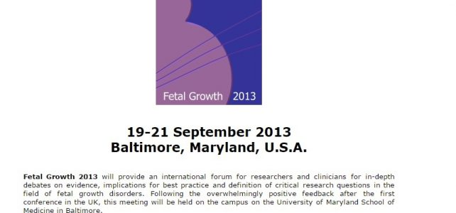 2nd International Conference on Fetal Growth